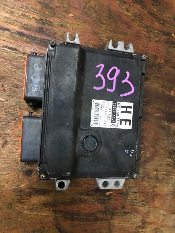 Блок управления efi Suzuki Swift ZC21S M15A