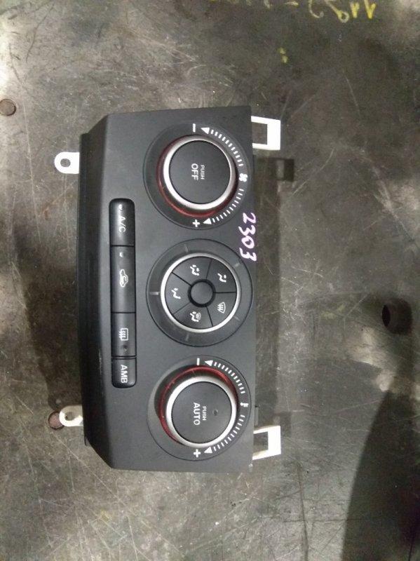 Блок управления климат-контролем Mazda Axela BK5P