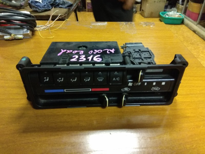 Блок управления климат-контролем Suzuki Jimny JB23W K6A