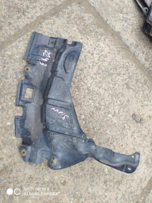 Защита двигателя Toyota Porte NNP15 передняя правая