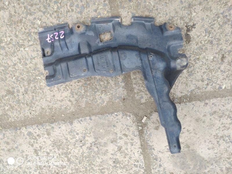 Защита двигателя Toyota Porte NNP15 передняя левая