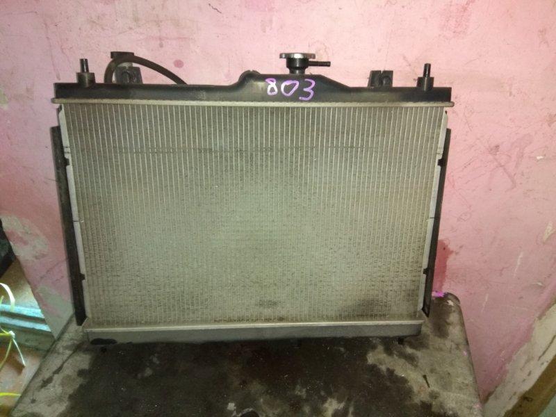Радиатор основной Nissan Bluebird Sylphy KG11 MR20