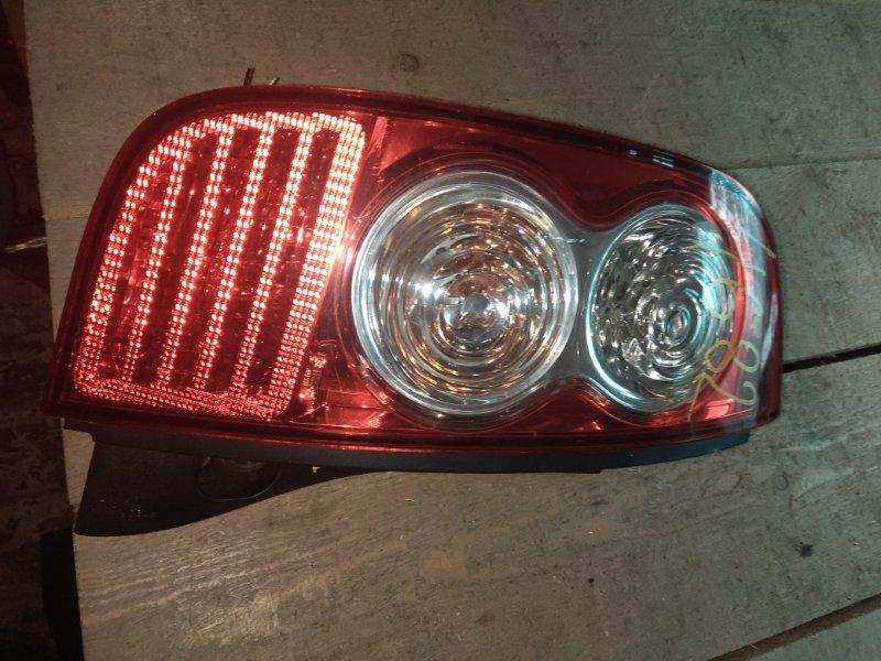 Стоп-сигнал Nissan March K12 задний левый