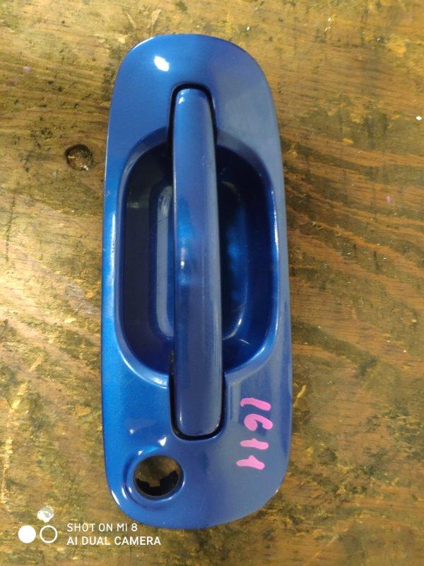 Ручка двери внешняя Subaru Impreza GG2 EL154 передняя левая