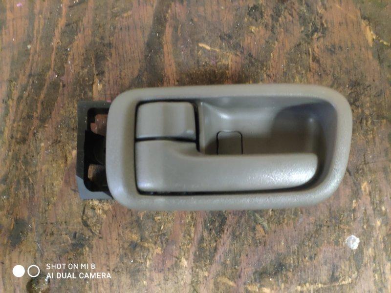 Ручка двери внутренняя Toyota Gaia SXM10 задняя левая