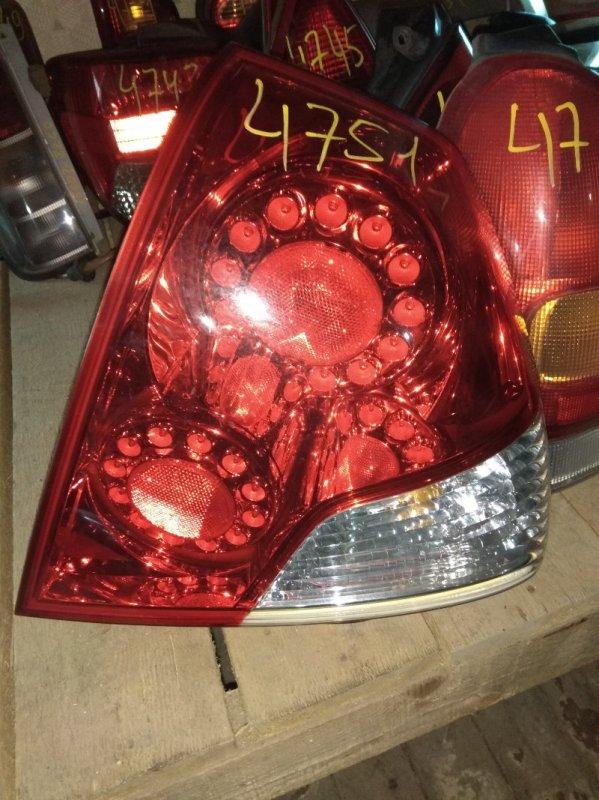 Стоп-сигнал Nissan Fuga PNY50 задний правый