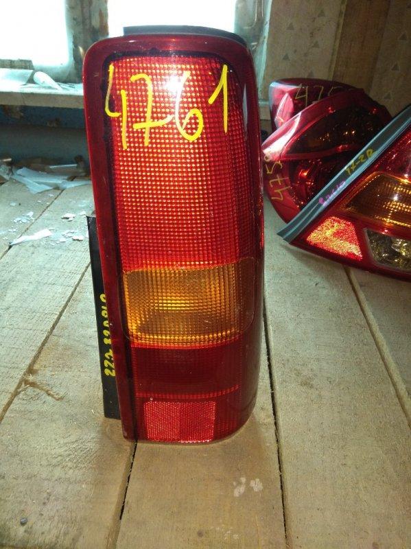 Стоп-сигнал Suzuki Jimny JB23 задний правый