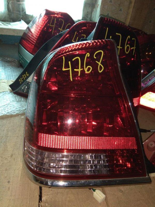 Стоп-сигнал Toyota Crown Majesta UZS175 задний левый