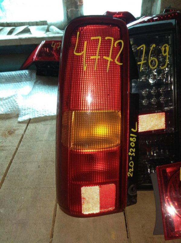 Стоп-сигнал Suzuki Jimny JB23 задний левый