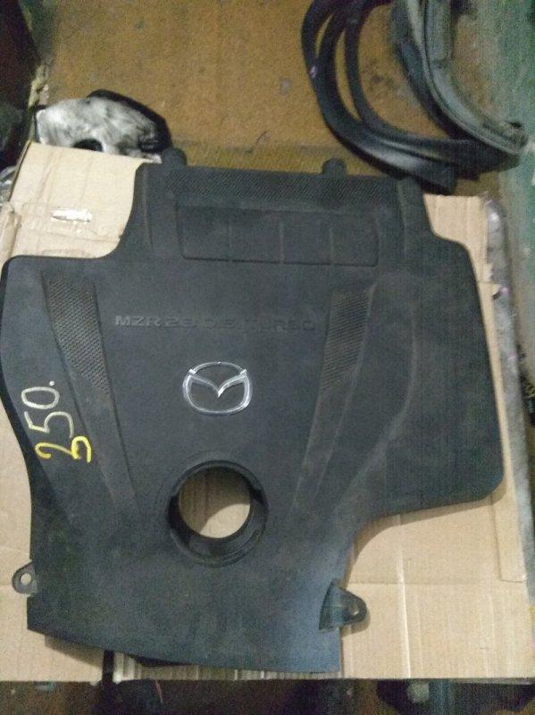 Пластиковая крышка на двс Mazda Mpv LY3P L3VDT