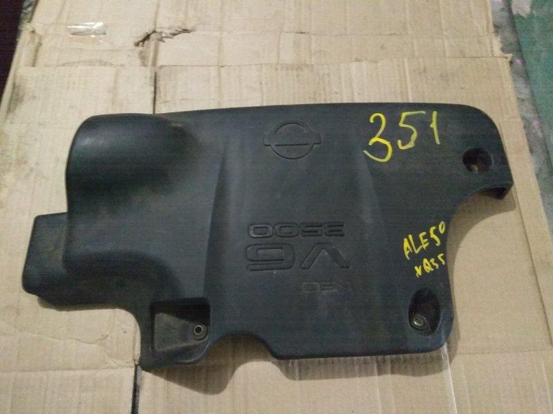 Пластиковая крышка на двс Nissan Elgrand ALE50 VQ35