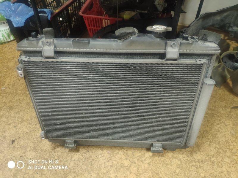 Радиатор основной Suzuki Swift ZC71S K12B
