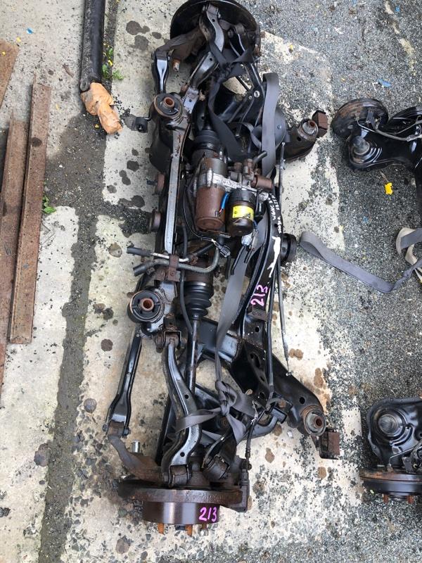 Балка подвески Nissan Stagea WGNC34 RB25DET задняя