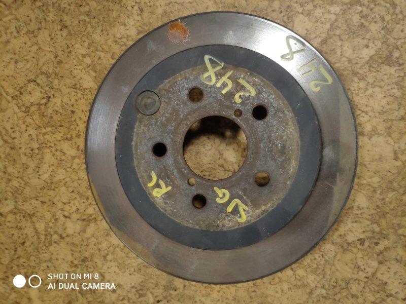 Тормозной диск Subaru Forester SJG FA20DET задний