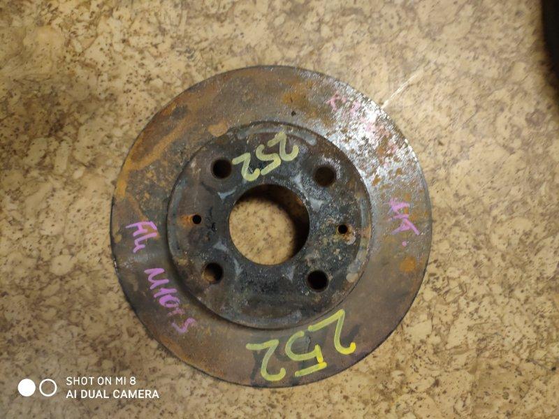 Тормозной диск Daihatsu Storia M100A K3-VE2 передний