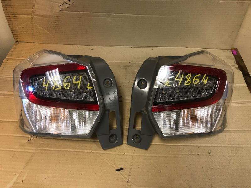 Стоп-сигнал Subaru Xv GPE FB20 2014 задний