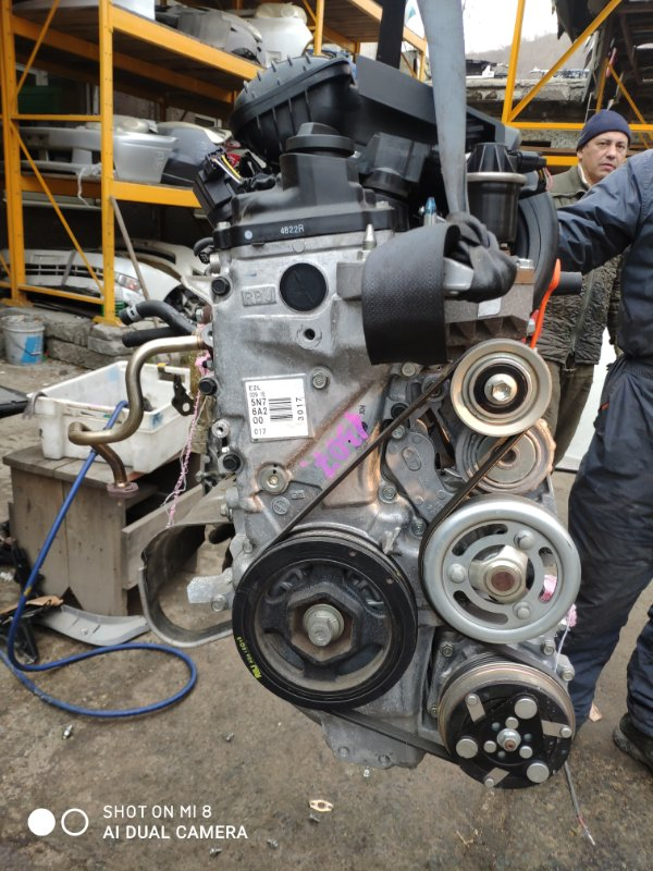 Двигатель Honda Fit Shuttle GP2 LDA 2015