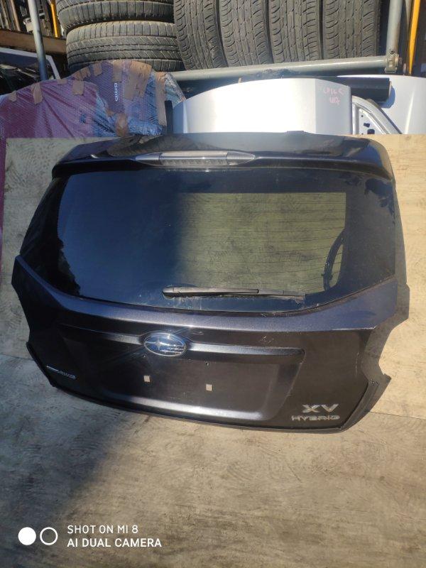 Дверь задняя Subaru Impreza Xv GPE FB20 2014