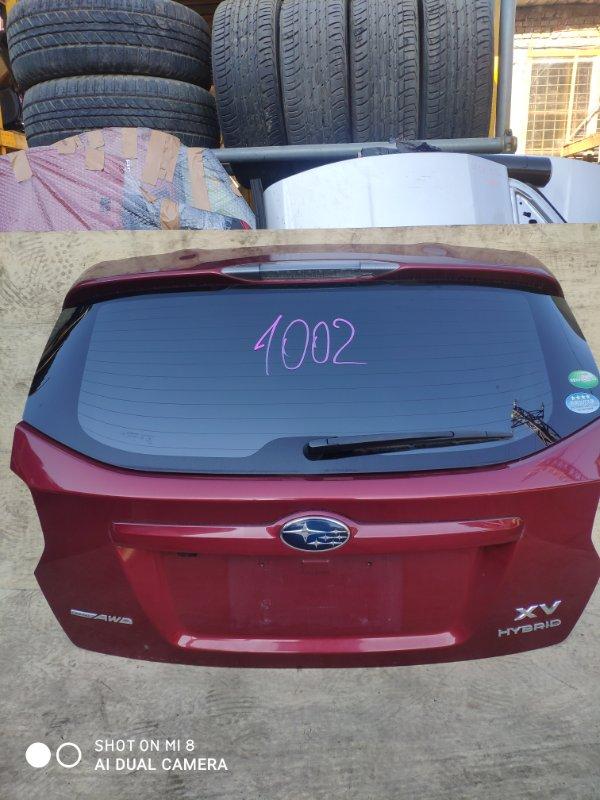 Дверь задняя Subaru Impreza Xv GPE FB20