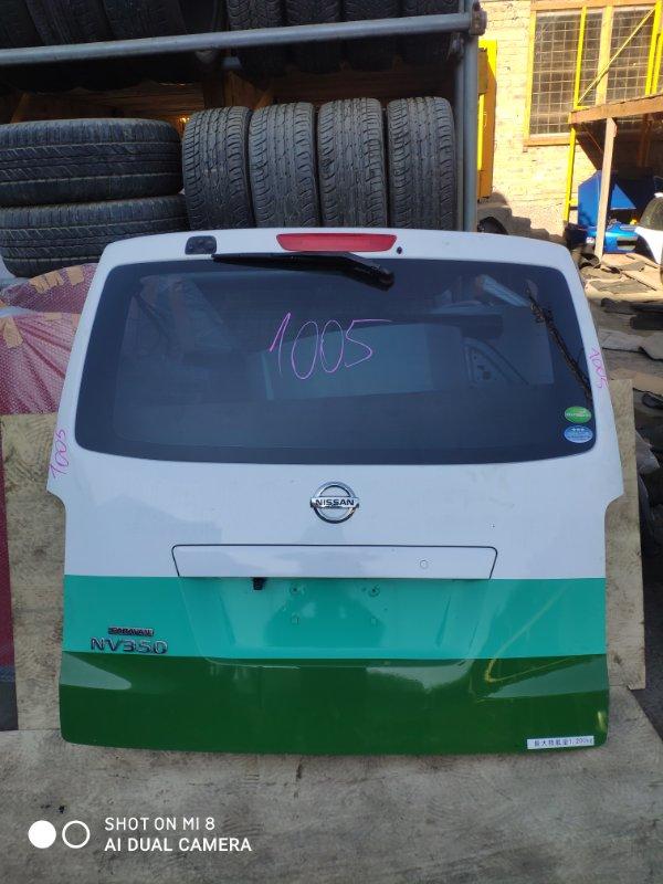 Дверь задняя Nissan Nv350 Caravan E26 QR20 2015