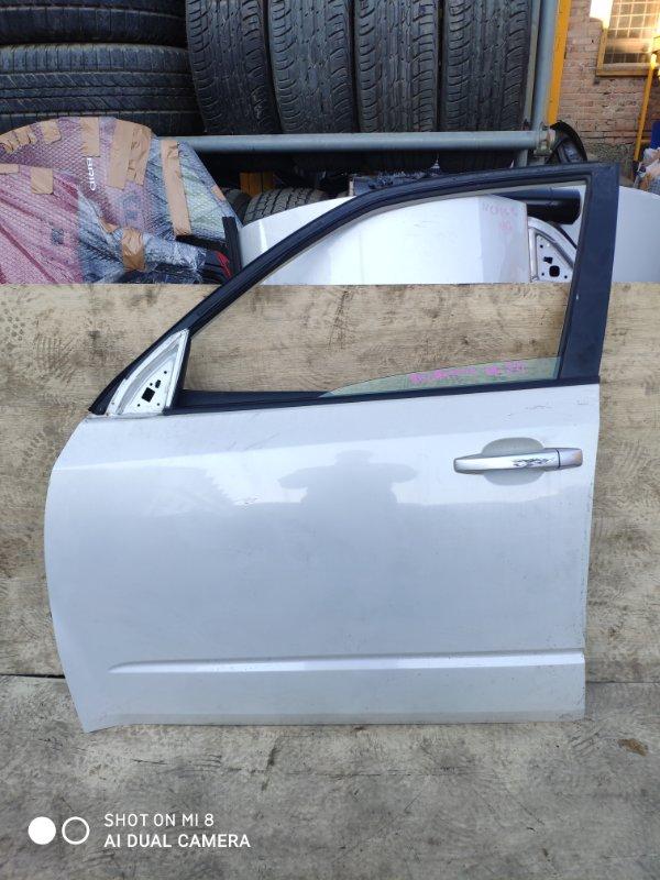 Дверь Subaru Forester SHJ FB20 2011 передняя левая