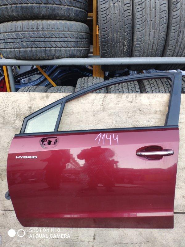 Дверь Subaru Impreza Xv GPE FB20 2014 передняя левая