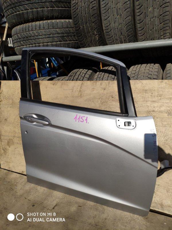 Дверь Honda Fit GP5 LEB передняя правая