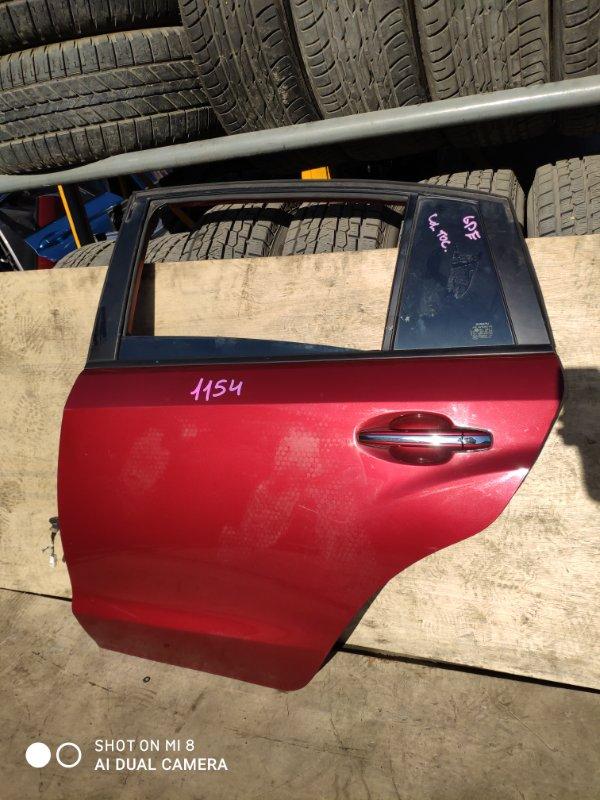 Дверь Subaru Impreza Xv GP7 FB20 2014 задняя левая