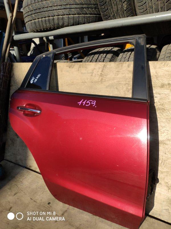 Дверь Subaru Impreza Xv GP7 FB20 2014 задняя правая