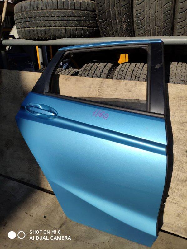 Дверь Honda Fit GP5 LEB задняя правая