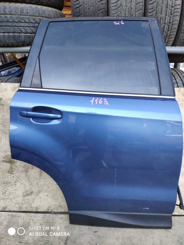 Дверь Subaru Forester SJG FB20 задняя правая