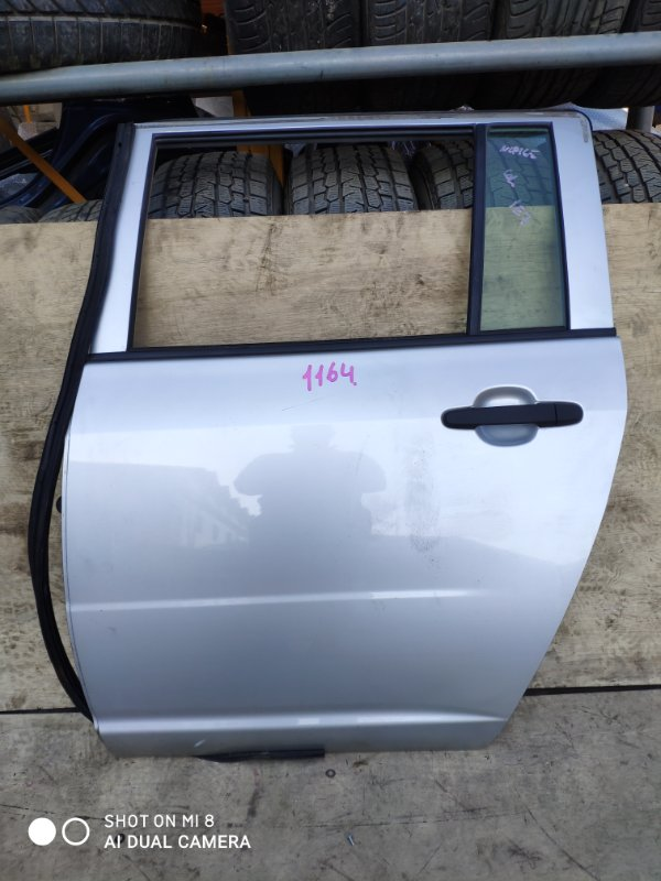 Дверь Toyota Succeed NCP165 1NZ задняя левая