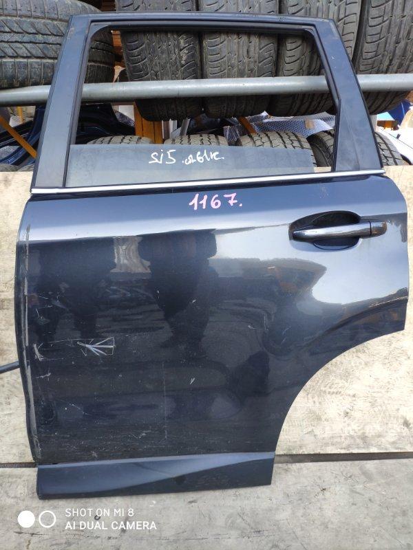 Дверь Subaru Forester SJG FB20 задняя левая