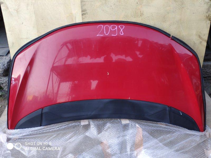 Капот Honda Fit GP5 LEB