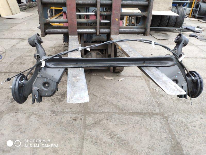 Балка подвески Honda Grace GM4 LEB задняя