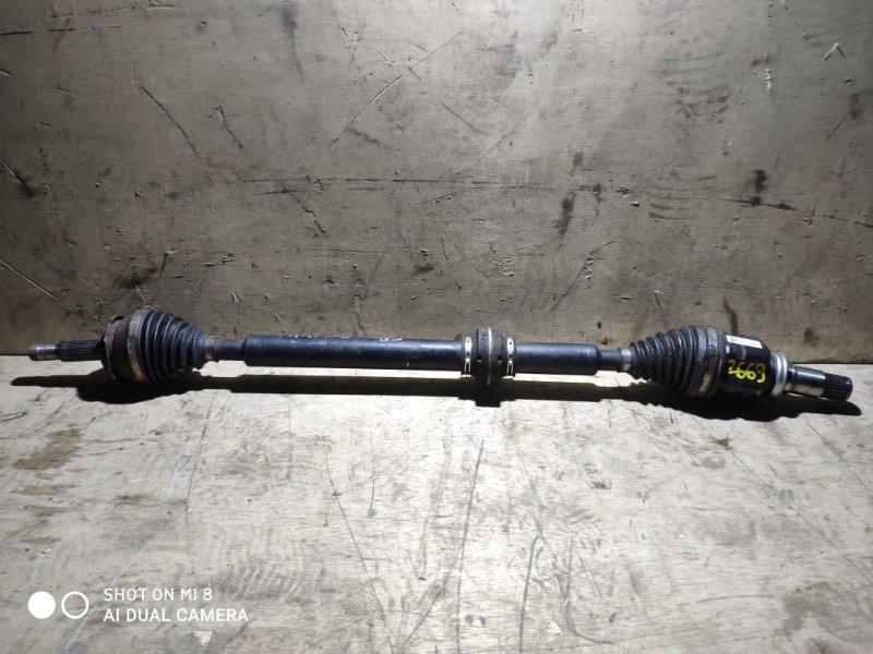 Привод Toyota Prius Alpha ZVW41 2ZR 2011 передний правый