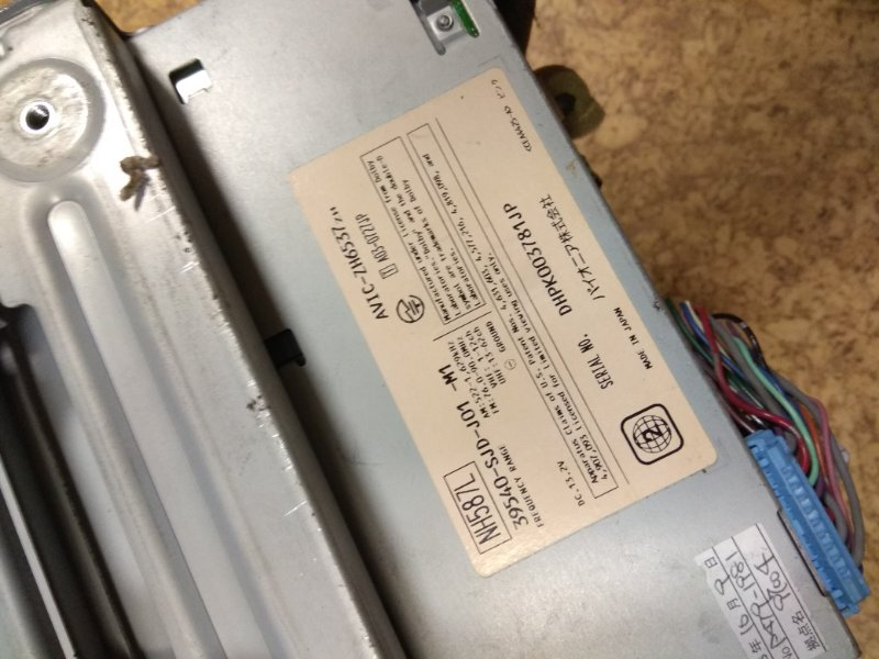 Монитор Honda Edix BE1 K20A