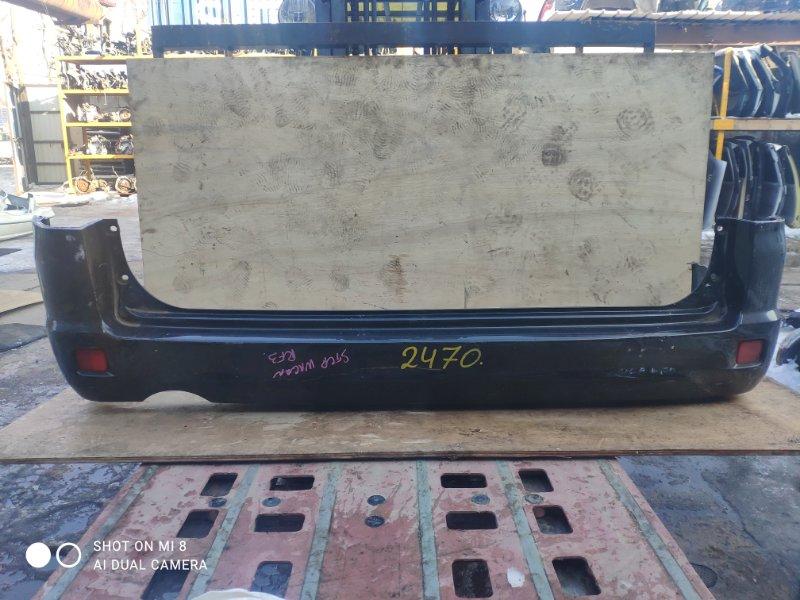 Бампер Honda Step Wagon RF3 K20A задний