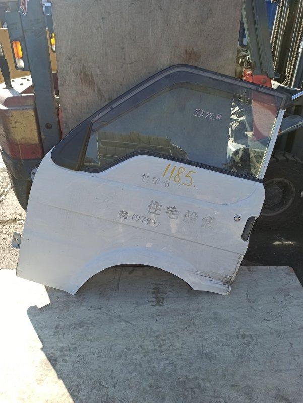 Дверь Nissan Vanette SK22MN передняя левая