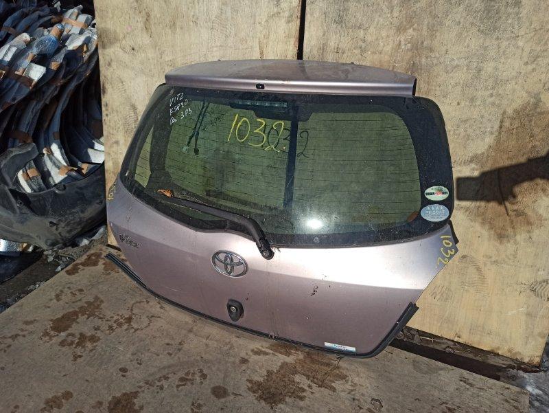 Дверь задняя Toyota Vitz KSP90 задняя