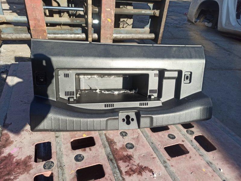 Накладка замка багажника Honda Fit GP5