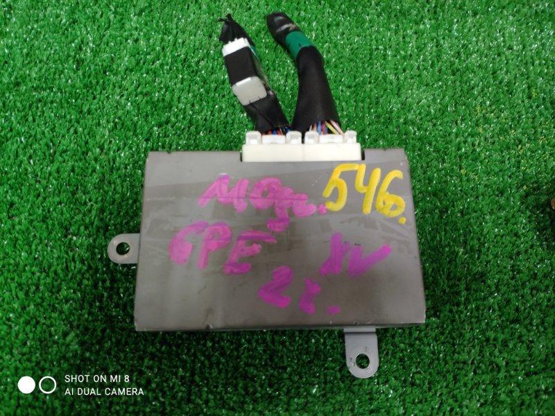 Электронный блок Subaru Xv GPE FB20