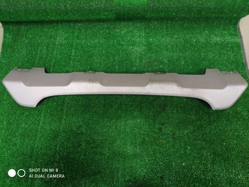Накладка на бампер Suzuki Sx4 S-Cross YB22S M16A 2016