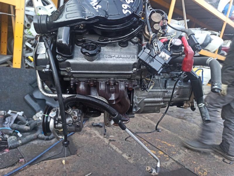 Двигатель Suzuki Alto HB11S F6A