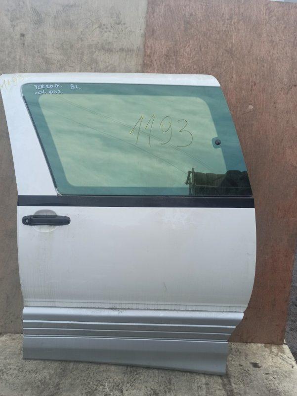 Дверь Toyota Estima CXR20 задняя левая