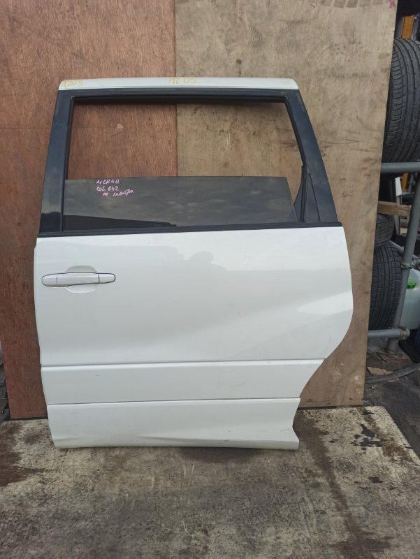 Дверь Toyota Estima MCR40 задняя левая