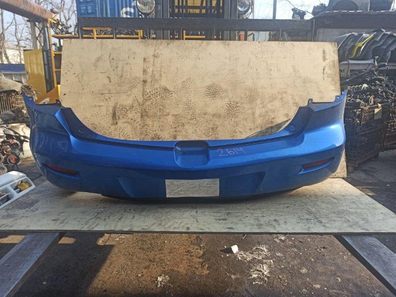 Бампер Mazda Axela BKEP задний