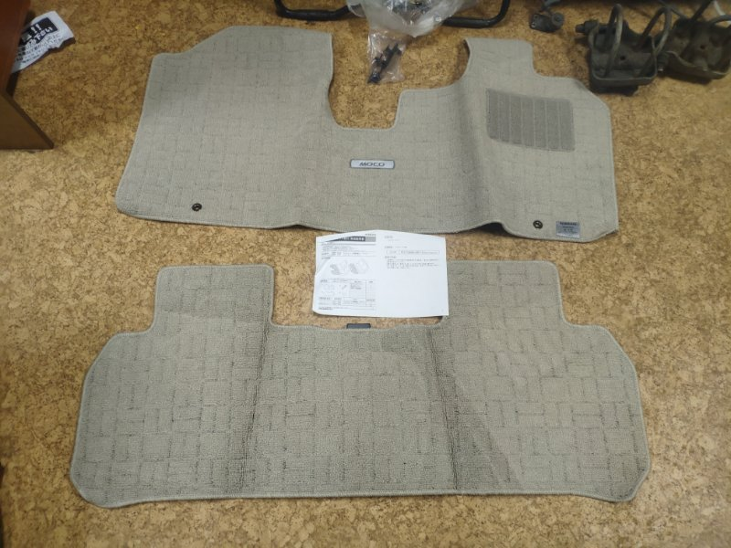 Коврики комплект Nissan Moco MG33S K6A