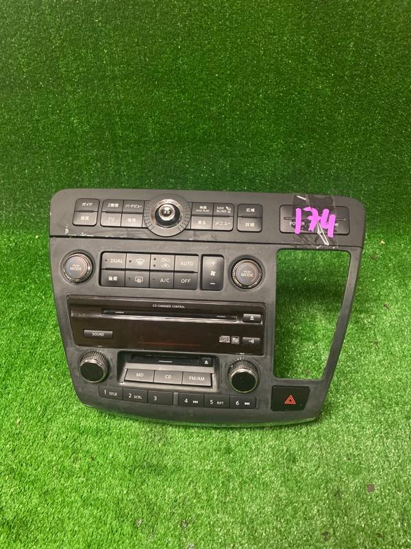 Магнитофон Nissan Elgrand E51 VQ25