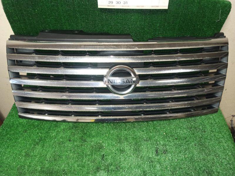 Решетка радиатора Nissan Elgrand E51